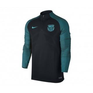 Training Top Nike FC Barcelone Strike Noir et Vert