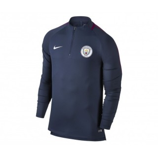 Training Top Nike Manchester City Squad Bleu