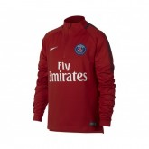 Training Top Nike Paris Saint-Germain Squad Rouge Enfant