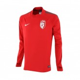 Training Top Pro Lille OSC Performance Shell Select Rouge