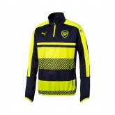 Training top Puma Arsenal Bleu et Jaune Enfant