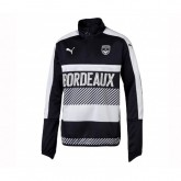 Training top Puma Bordeaux Noir Enfant