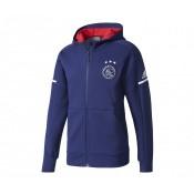 Veste Anthem adidas Ajax Amsterdam Bleu