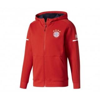 Veste Anthem adidas Bayern Munich Rouge