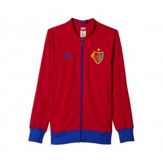 Veste Anthem adidas FC Bâle Rouge