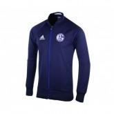 Veste Anthem adidas FC Schalke 04 Bleu