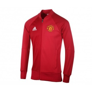 Veste Anthem adidas Manchester United Domicile Rouge