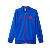Veste Anthem adidas Manchester United Extérieur Bleu