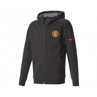 Veste Anthem adidas Manchester United Noir Enfant