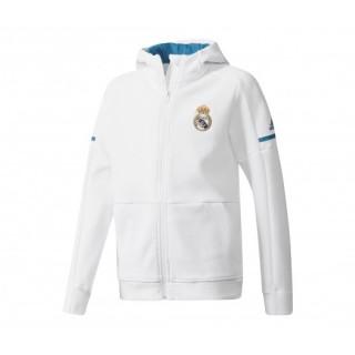 Veste Anthem adidas Real Madrid Blanc Enfant