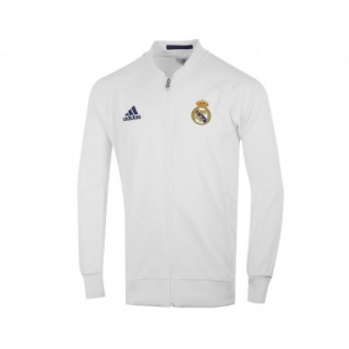 Veste Anthem adidas Real Madrid Domicile Blanc