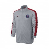 Veste Authentic N98 Nike Paris Saint-Germain Gris