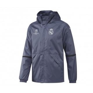 Veste Coupe Vent adidas Real Madrid Violet