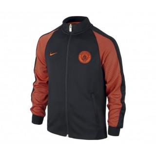 Veste Nike Authentic N98 Manchester City Noir et Orange