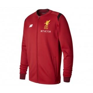 Veste Présentation New Balance Liverpool Elite Rouge