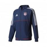 Veste Présentation adidas Bayern Munich Bleu