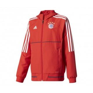 Veste Présentation adidas Bayern Munich Rouge Enfant