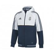 Veste Présentation adidas Juventus Bleu et Blanc