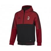 Veste Présentation adidas Milan AC Rouge et Noir
