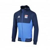 Veste Présentation adidas Olympique Lyonnais Bleu