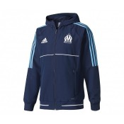 Veste Présentation adidas Olympique Marseille Bleu