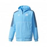 Veste Présentation adidas Olympique Marseille Bleu Enfant
