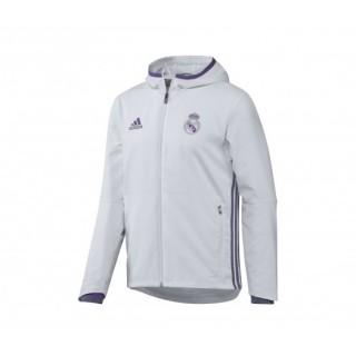Veste Présentation adidas Real Madrid 2016/17 Blanc