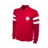 Veste Retro Suisse 1960 Rouge