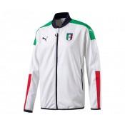 Veste Stadium Italie Blanc