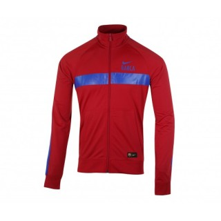 Veste Zip Core Nike FC Barcelone Rouge
