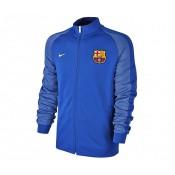 Veste Zip Nike Authentic FC Barcelone Bleu