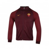 Veste Zip Nike Authentic N98 AS Roma Rouge Enfant