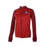 Veste Zip Nike Authentic Paris Saint-Germain Rouge Femme
