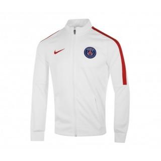 Veste Zip Strike Paris Saint-Germain Blanc