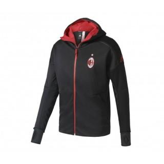 Veste à Capuche Anthem Z.N.E. Milan AC Noir