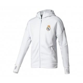 Veste à Capuche Anthem Z.N.E. Real Madrid Blanc Enfant