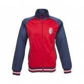 Veste à capuche LOSC Fan Bleu et Rouge
