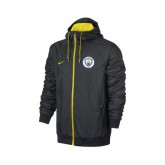 Veste à capuche Nike Manchester City Noir