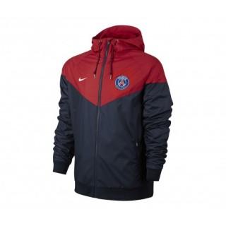 Veste à capuche Nike Paris Saint-Germain Bleu et Rouge