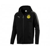 Veste à capuche Puma Borussia Dortmund Noir
