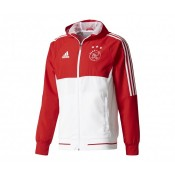 Veste à capuche adidas Ajax Amsterdam Rouge/Blanc