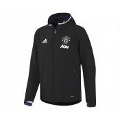Veste à capuche adidas Manchester United Noir