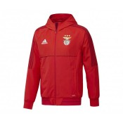 Veste adidas Benfica Rouge