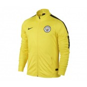 Veste entraînement Nike Manchester City Jaune