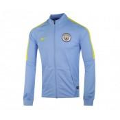 Veste survêtement Nike Manchester City Bleu