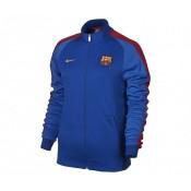 Veste zip Nike Authentic N98 FC Barcelone Bleu Femme