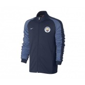 Veste zip Nike Authentic N98 Manchester City Bleu