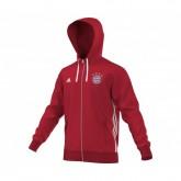 Veste zip à capuche adidas Bayern Munich Rouge