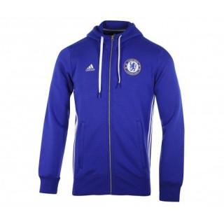 Veste zip à capuche adidas Chelsea Bleu