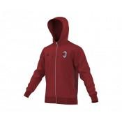 Veste zip à capuche adidas Milan AC Rouge
